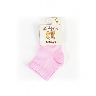 Lillo&Pippo sokne 108-B,roze,00