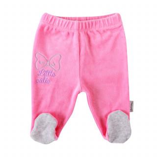 Lill&Pippo bebi pantalone 385-N devojčice,pliš,sa stopicama,56(0M+)