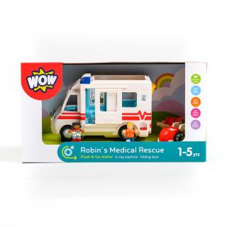 Wow igračka ambulantna autoRobins Medical Rescue