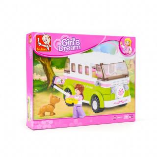 Sluban kocke, autobusa za obilazak grada, 158 kom