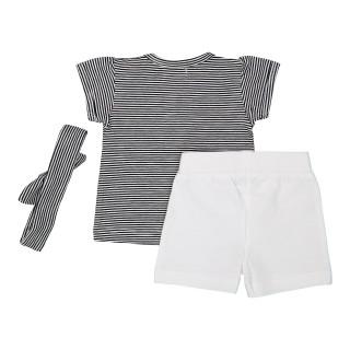 Dirkje komplet (majica kr,šorts i traka),djevojčice