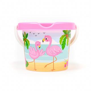 Androni Giocattoli kantica za pijesak flamingos