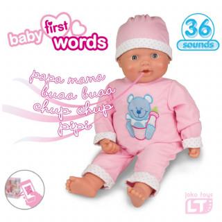 Loko toys, lutka beba koja izgovara prve riječi,46cm