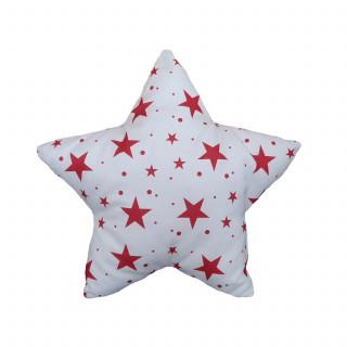 Lillo&Pippo ukrasni jastuk Zvezda,crvena