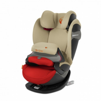Cybex auto sedište (9-36kg) 1/2/3 Pallas S fix Autumn Gold burnt red