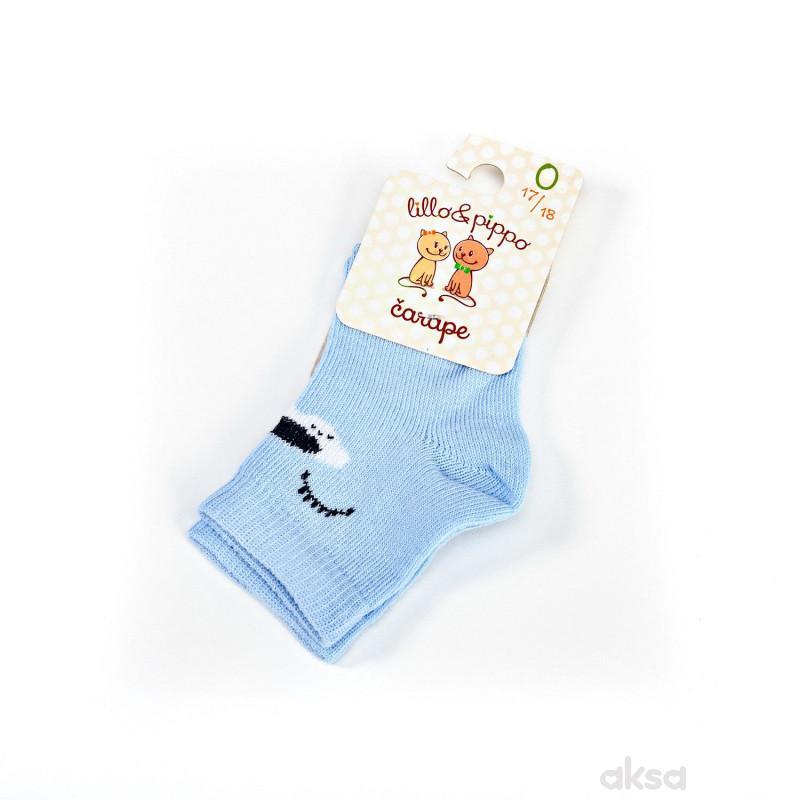 Lillo&Pippo sokne 108-B,plava,2