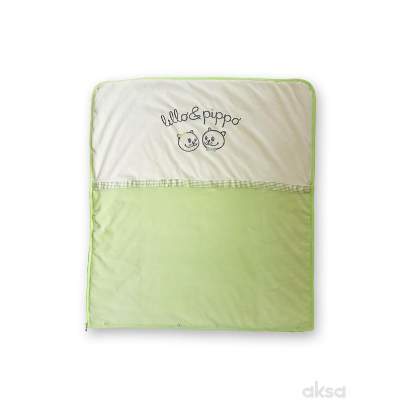 Lillo&Pippo prekrivač-vreća,2u1,pliš