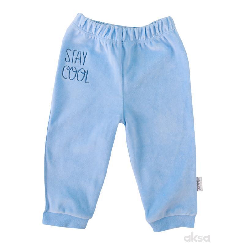 Lill&Pippo bebi pantalone 383-N dečaci,pliš,56(0M+)