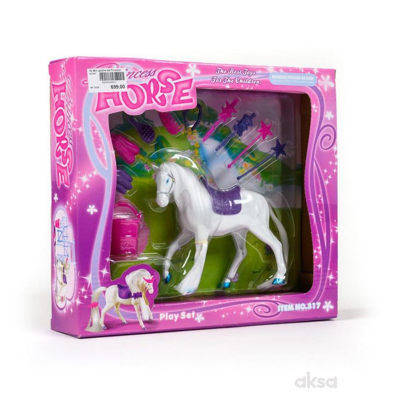 Hk Mini igračka set Princezin konjić