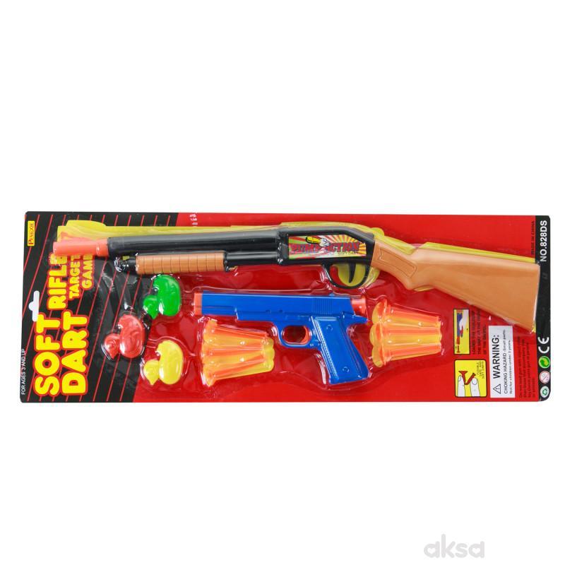 Hk Mini igračka puška i pištolj sa patkicama