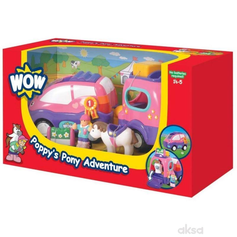 Wow igračka avanture sa ponijem Poppys Pony Adv