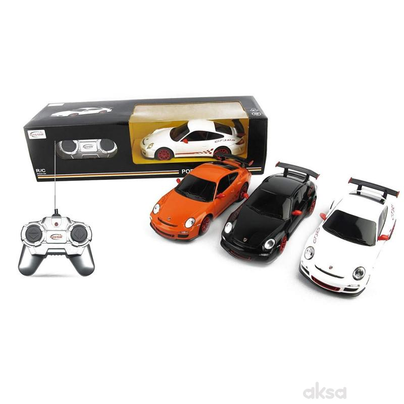 Rastar igračka RC auto Porsche GT3 1:24 - crn, bel