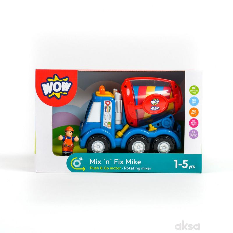 Wow igračka kamion mešalica Mix n Mike