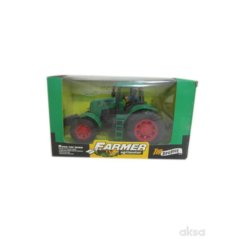 Hk Mini igračka frikcioni traktor