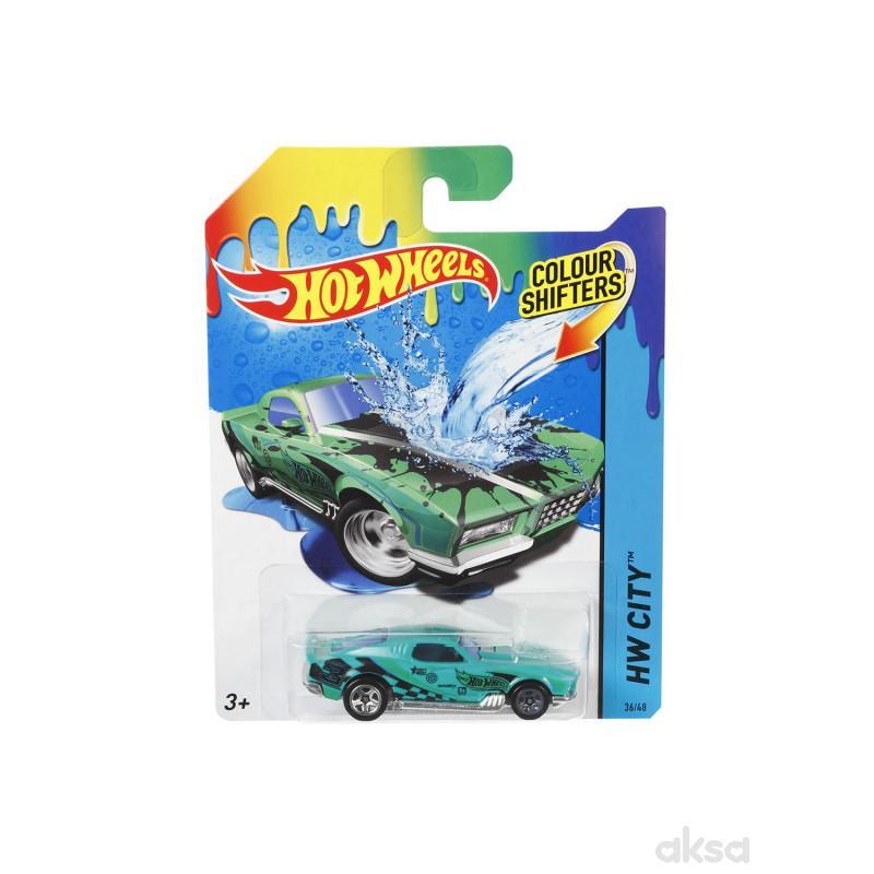 Hot wheels autić koji menja boju BHR15