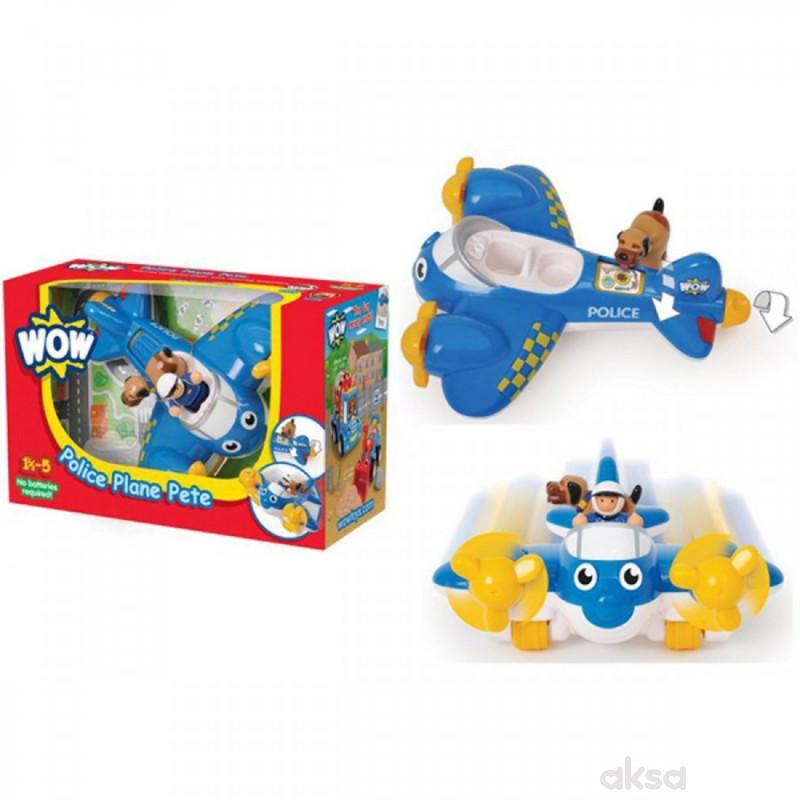 Wow igračka policijski avion Police Plane Pete