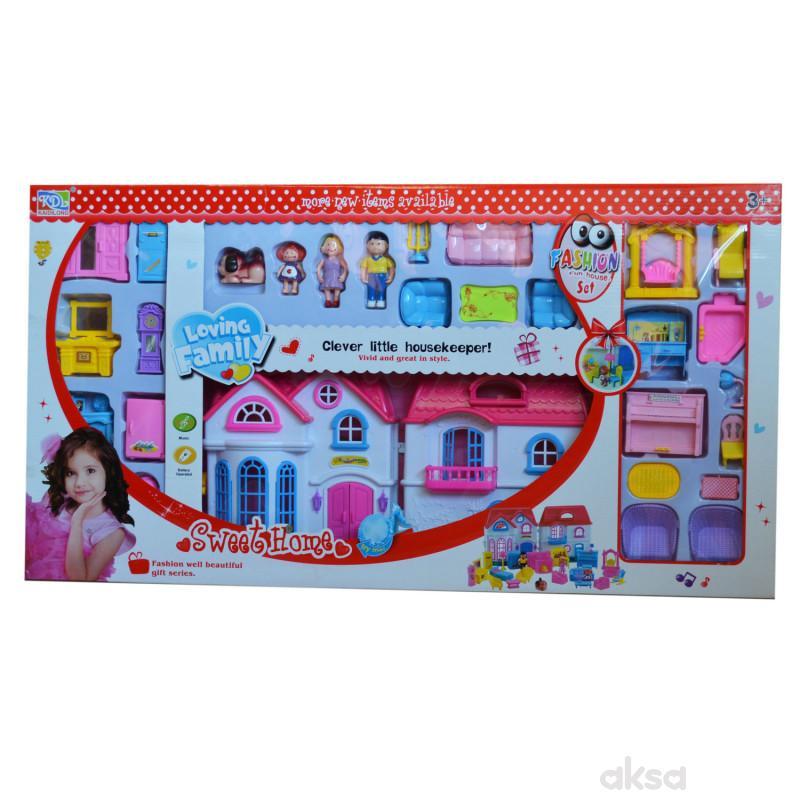 Qunsheng Toys, igračka, kuća za lutke