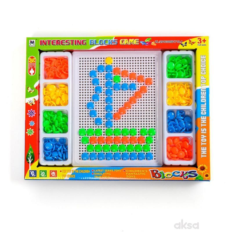HK Mini igračka bockalice, brodić, YY583607