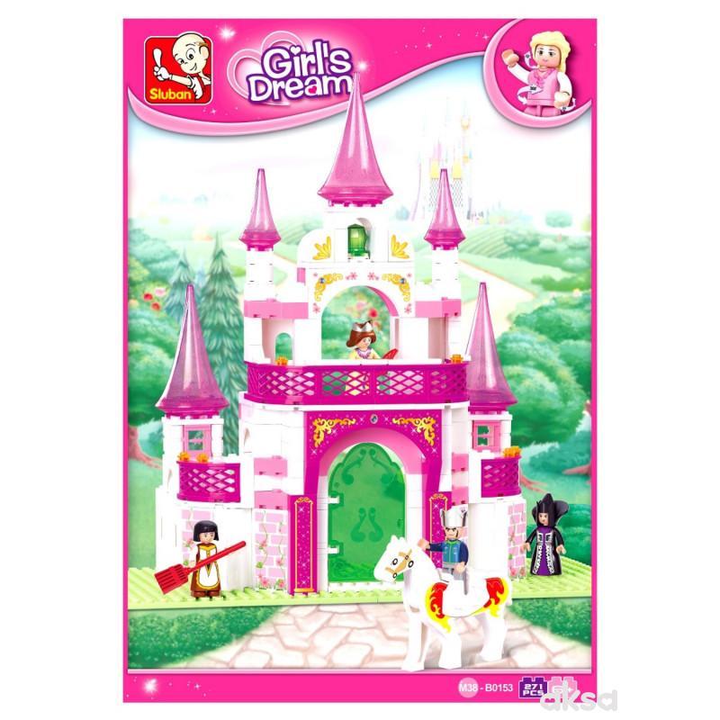 Sluban kocke, dvorac iz snova, 271 kom