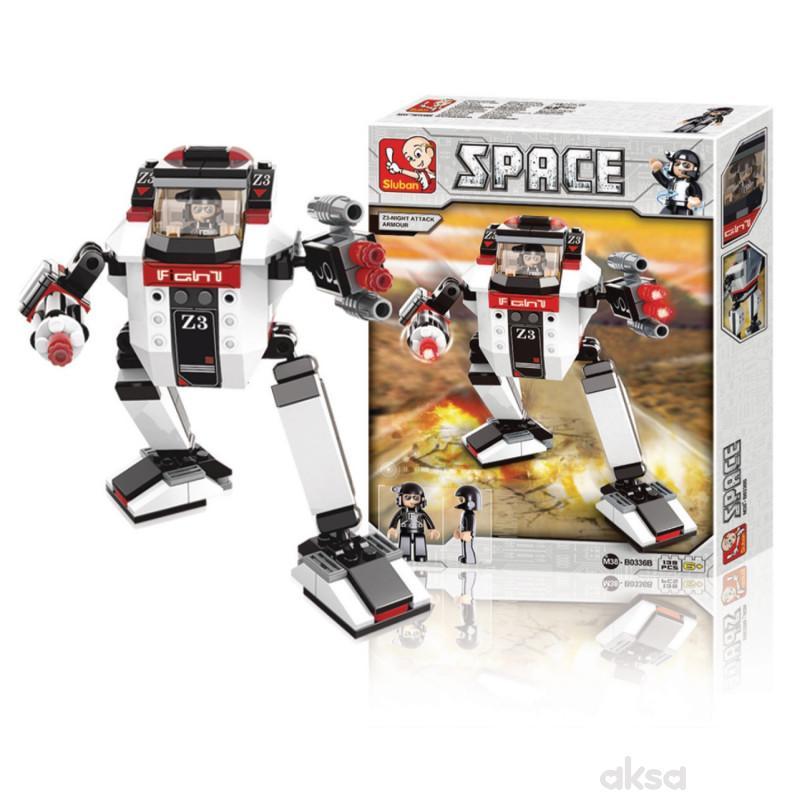 Sluban kocke, robot noćni napadač, 139 kom