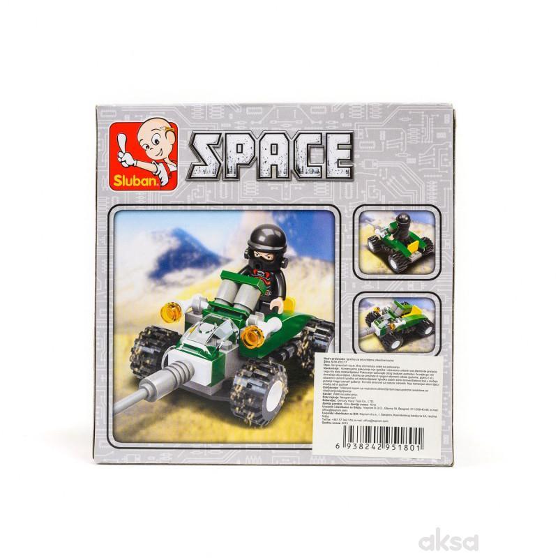 Sluban kocke, svemirsko vozilo, 48 kom