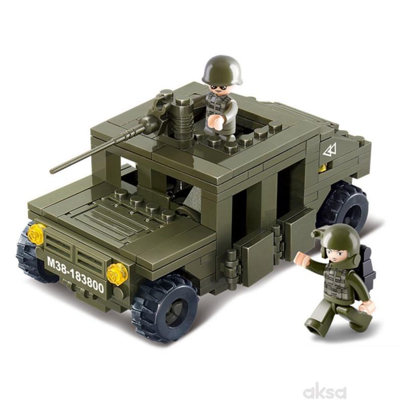 Sluban kocke vojnički Hamer 175 kom