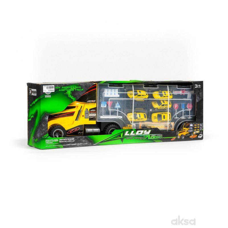 HK Mini igračka kamion sa autićima