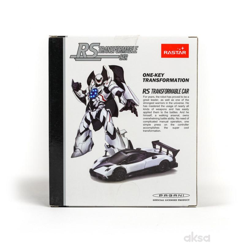 Rastar automobil Pagani Zonda R Transformable 1/32
