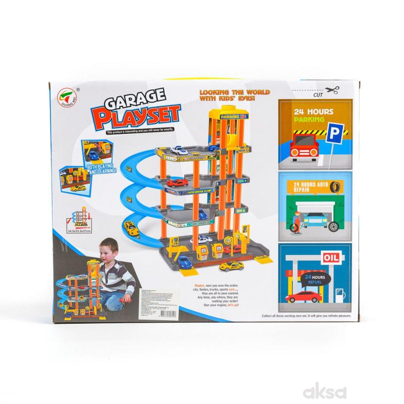 Qunsheng Toys, igračka, parking sa liftom