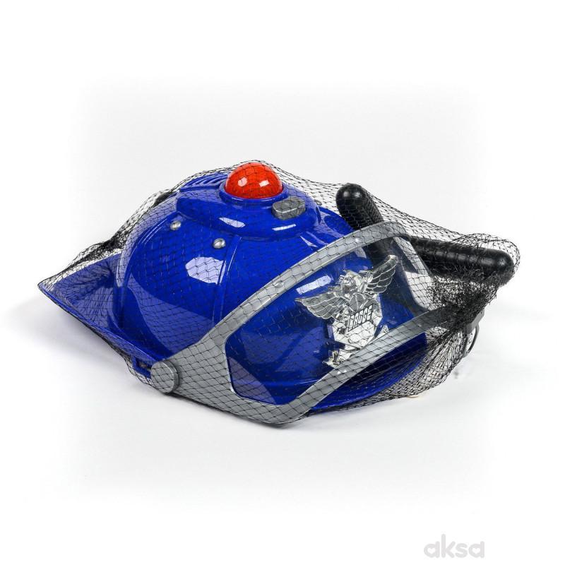 HK Mini igračka, policijski šlem sa dodacima