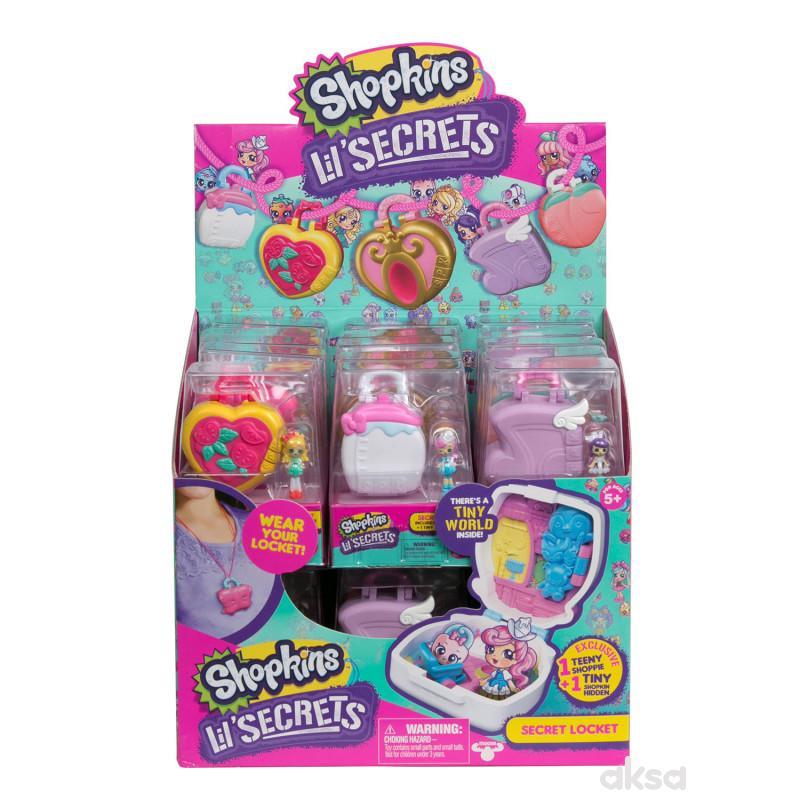 Shopkins Lil Secrets Mini Sobica Asst S8 ME56870