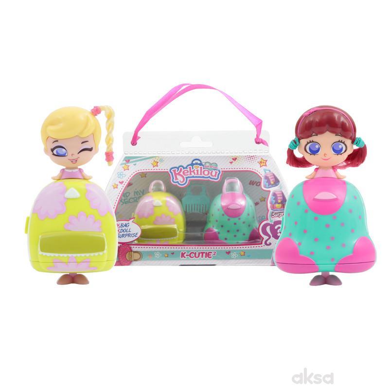 Kekilou igračka lutka Joyce + Daisy, double