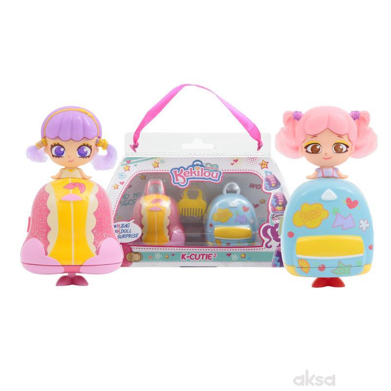 Kekilou igračka lutka Kylie + Dixie, double