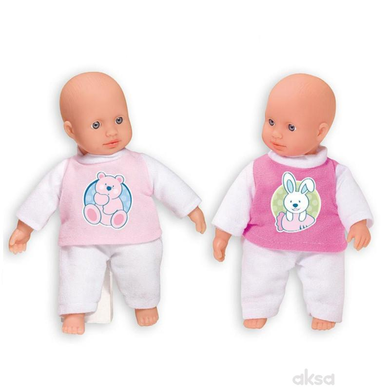 Loko toys,lutka beba, mini, 20cm