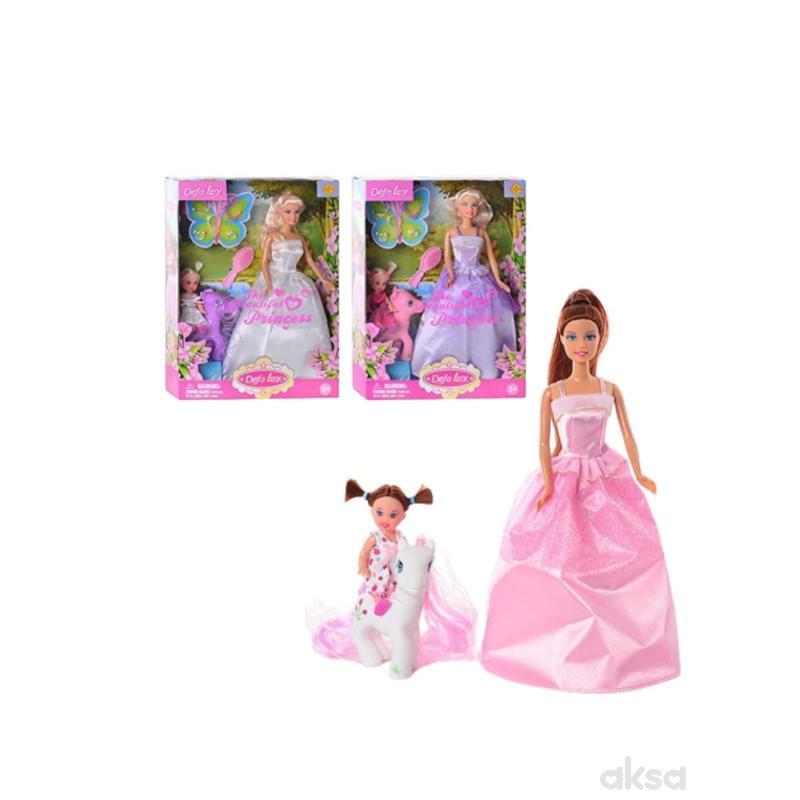 Defa Lutka u svečanoj haljini sa ponijem