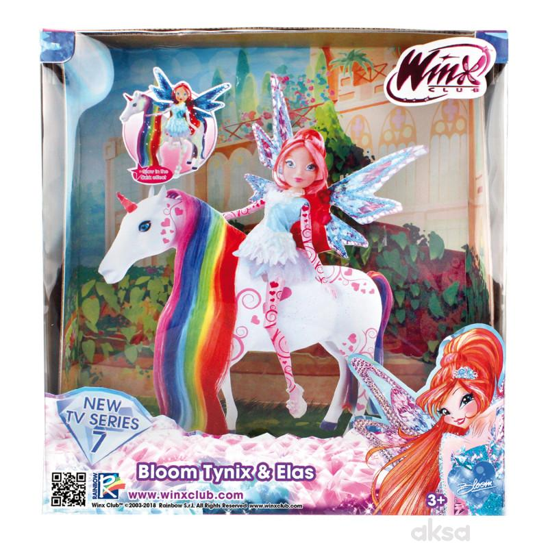 Winx Lutka Bloom Tynix&Elas Jednorog 26 Cm 127430
