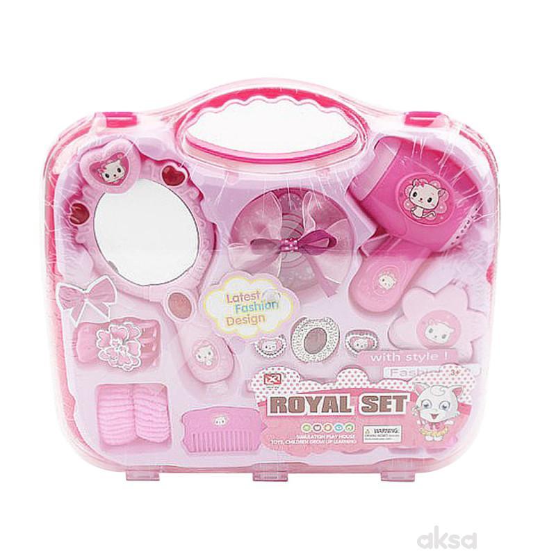 Qunsheng Toys, set za uljepšavanje u koferčetu