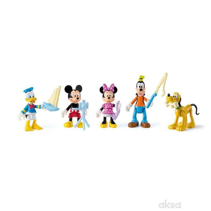 Mickey/Minnie 5 figura asst