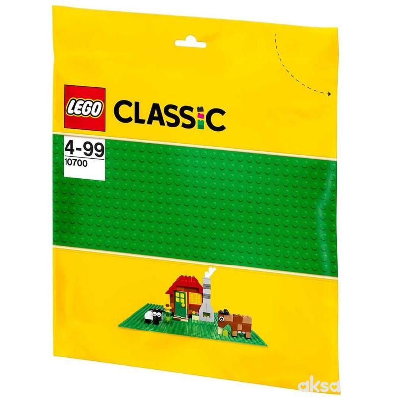 Lego Classic Creative podloga zelena Le107000