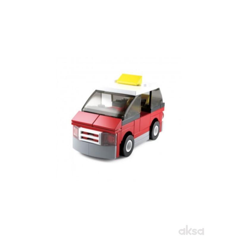 Sluban kocke, taxi, 55 kom