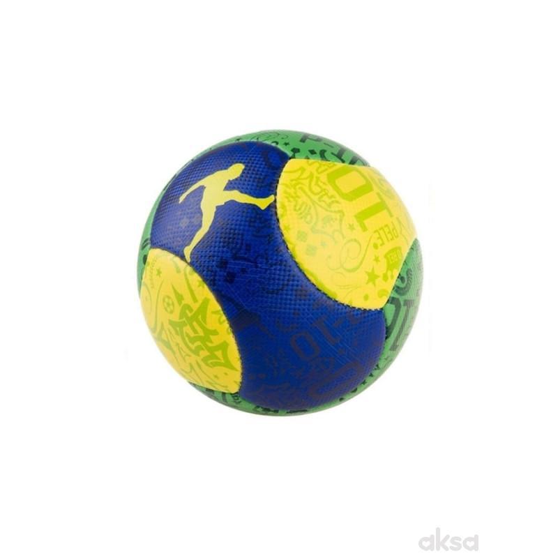 Fudbalska lopta sarena PELE