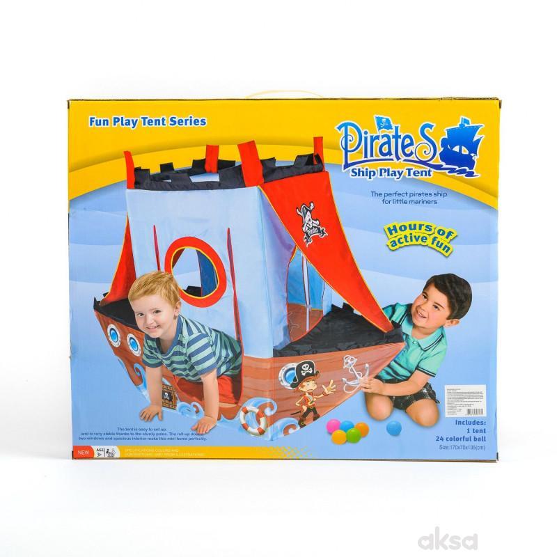 Qunsheng Toys, igračka piratski šator