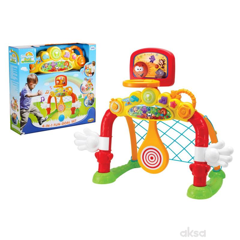 Win Fun igračka Set za fudbal