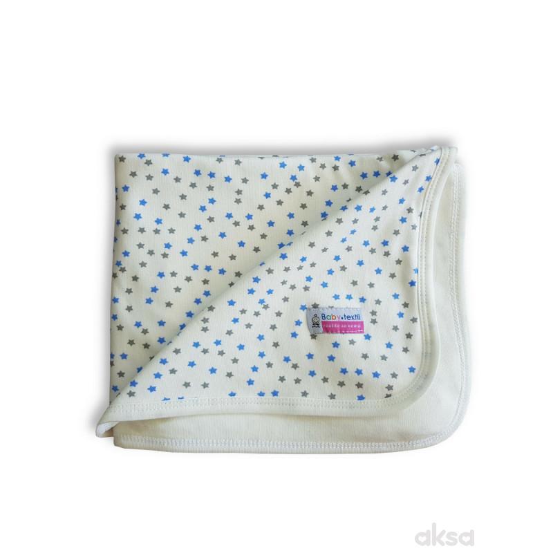 Textil prekrivač Zvjezdice,80x90 CM