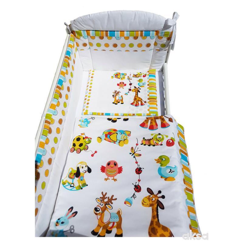 Baby Textil posteljina Baby animals6/1,80x120CM