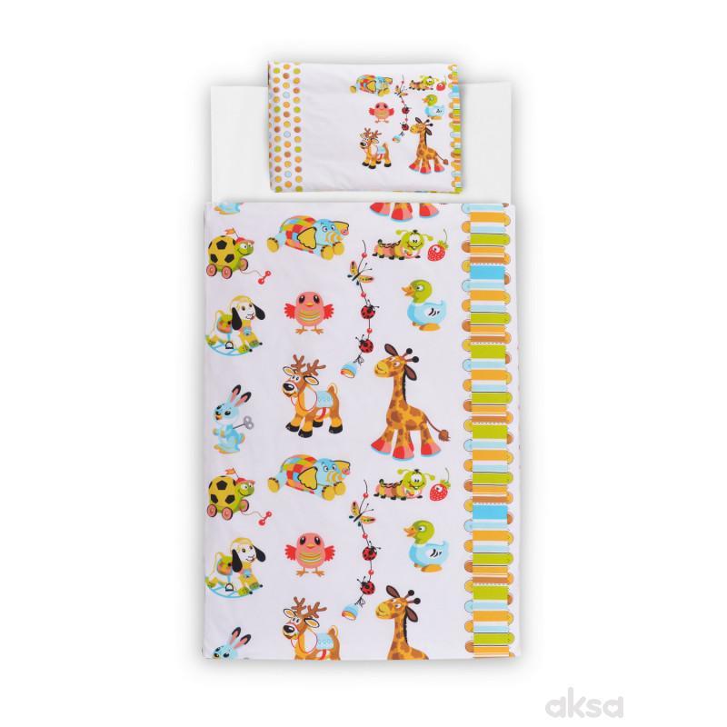 Baby Textil posteljinaBaby animals 3/1,80x120CM