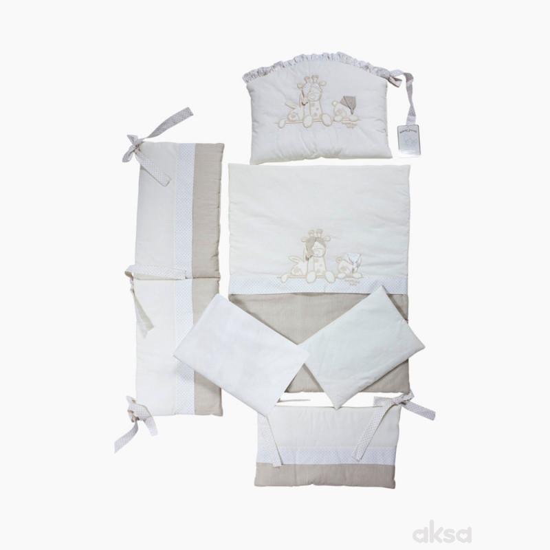 Deksi posteljina za kolijevku Tri Drugara