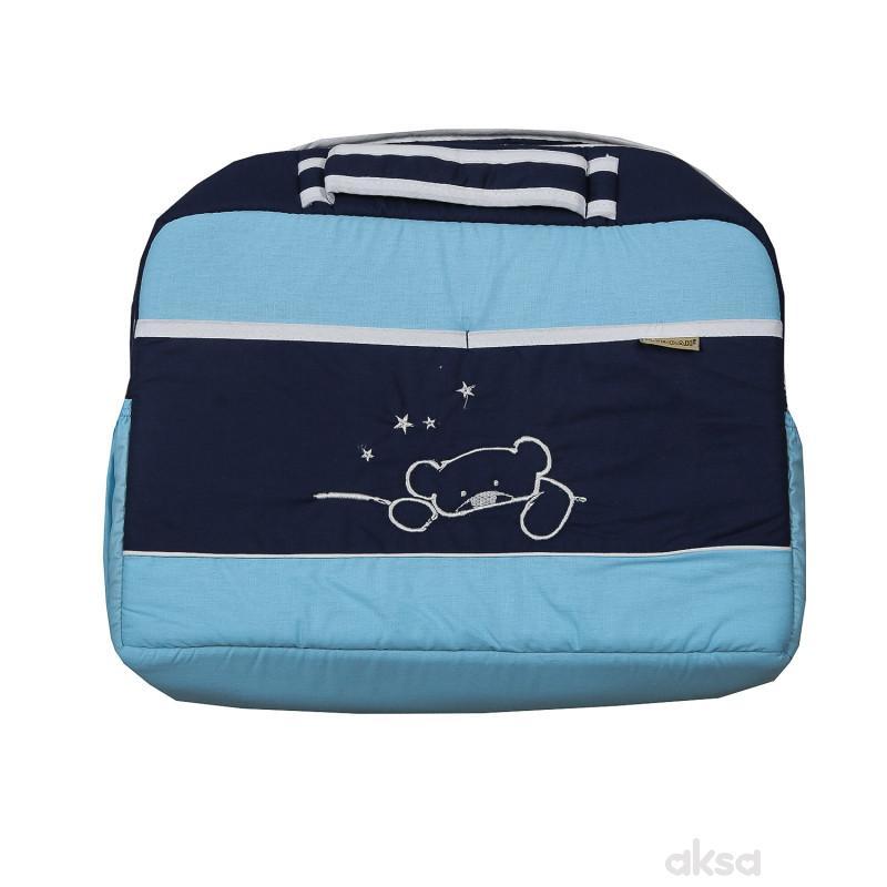 Stefan torba,teget-plava