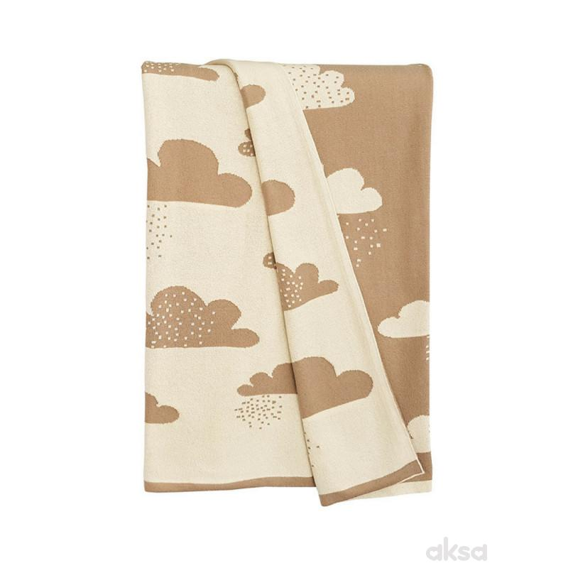Baby Textil deka LUX -OBLAK,80x100CM