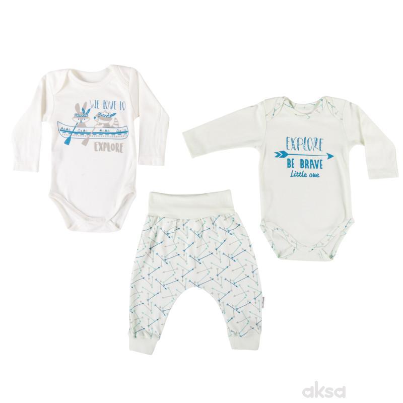 Lillo&Pippo baby komplet(3 dijela),dječaci